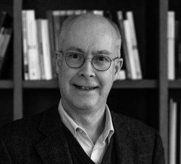 Photo en noir et blanc de l'avocat Olivier Hamal